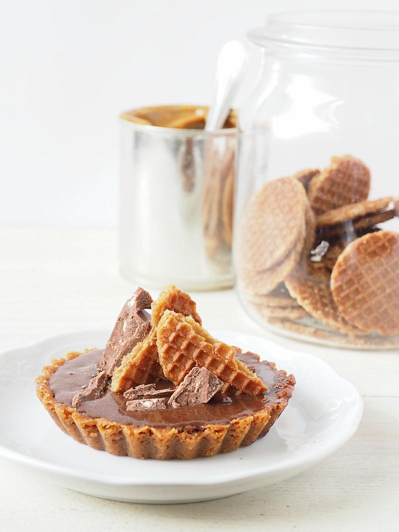 chocolade stroopwafel taartje 2.jpg
